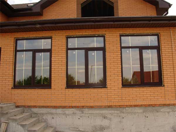 Окна в частном доме от производителя