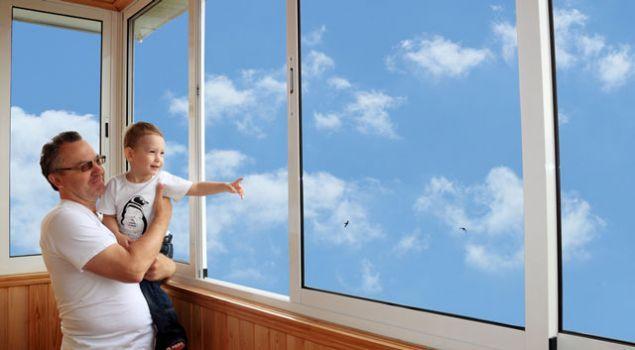 Алюминиевые остекление балконов в Минске